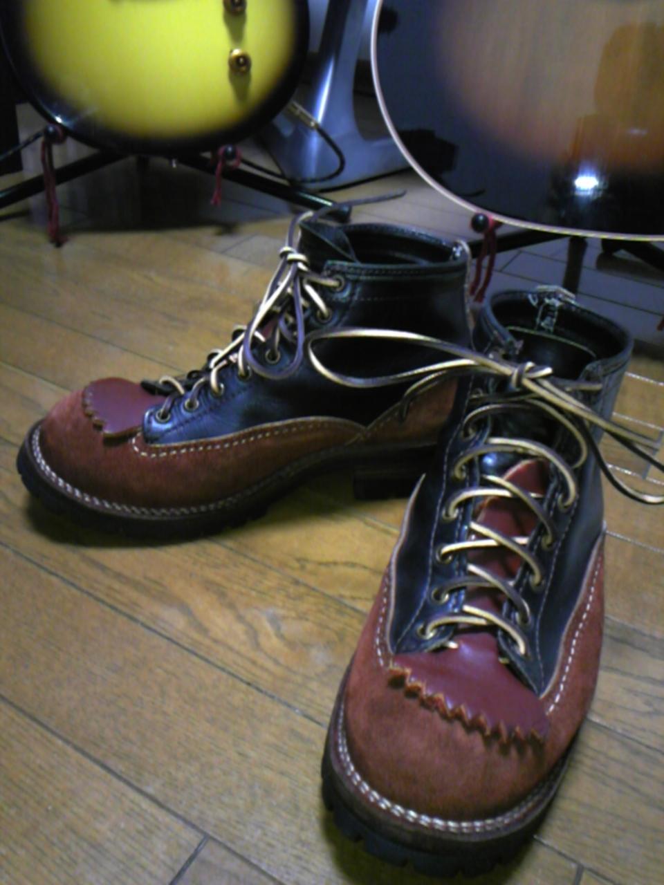 テリーマンの靴紐