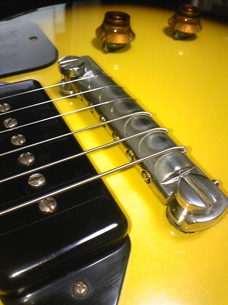 弦交換&オクターブ調整