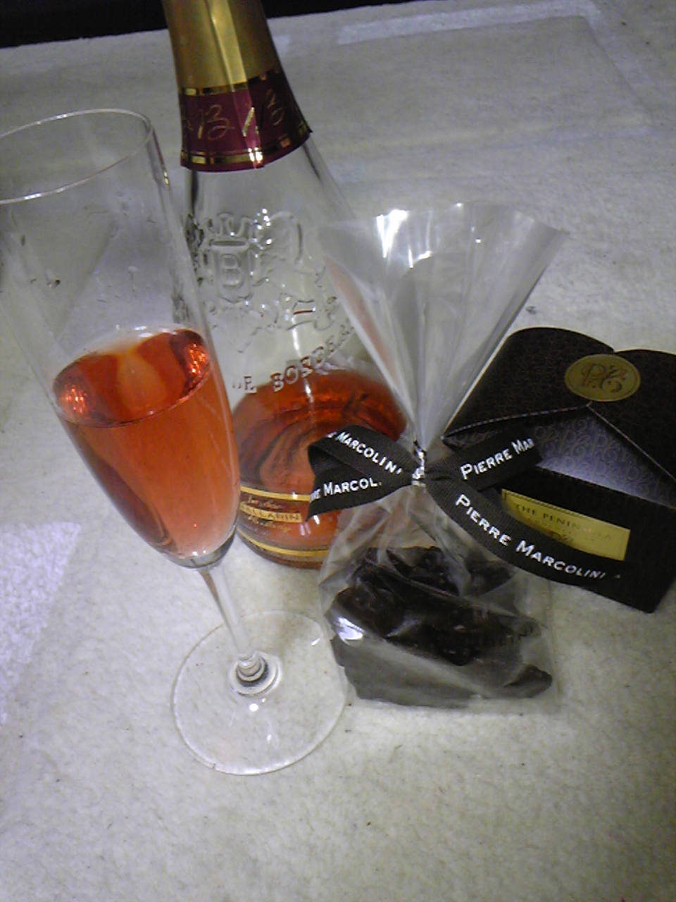 チョコレートとワインパーティー