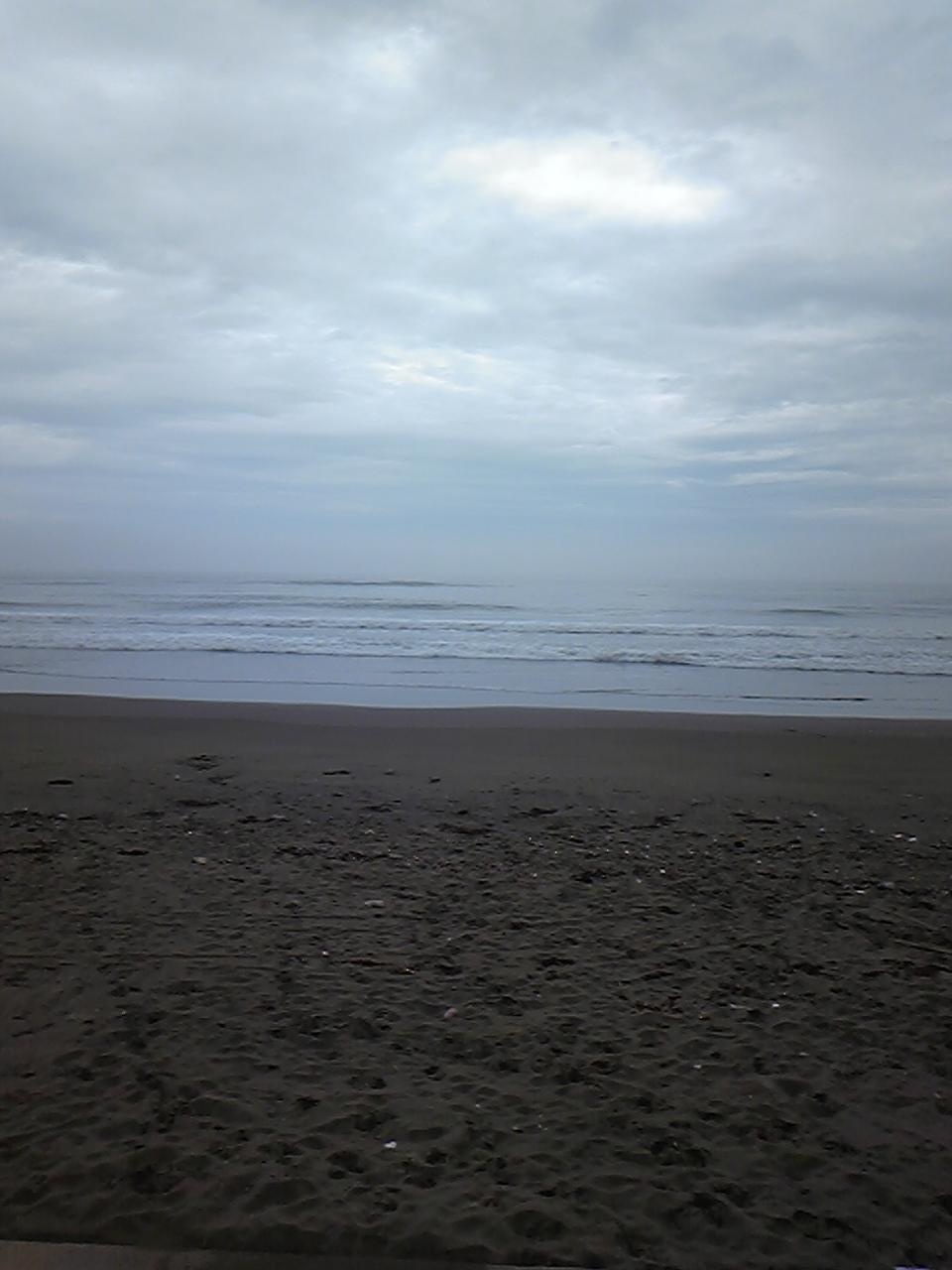 平日のビーチ