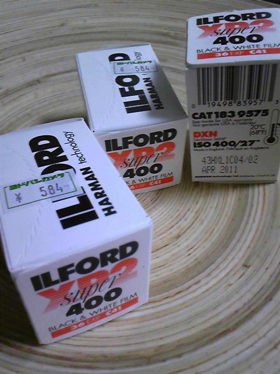 ILFORD XP2 super400
