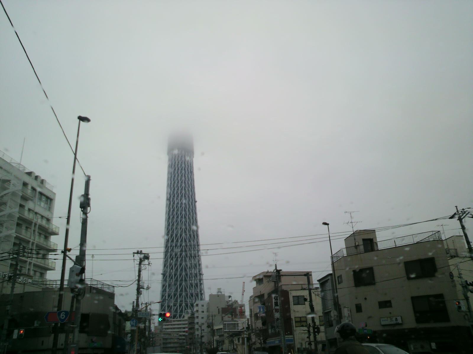東京スカイツリーっつったっけ?