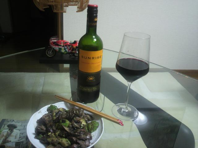 久々の自炊と安ワイン②