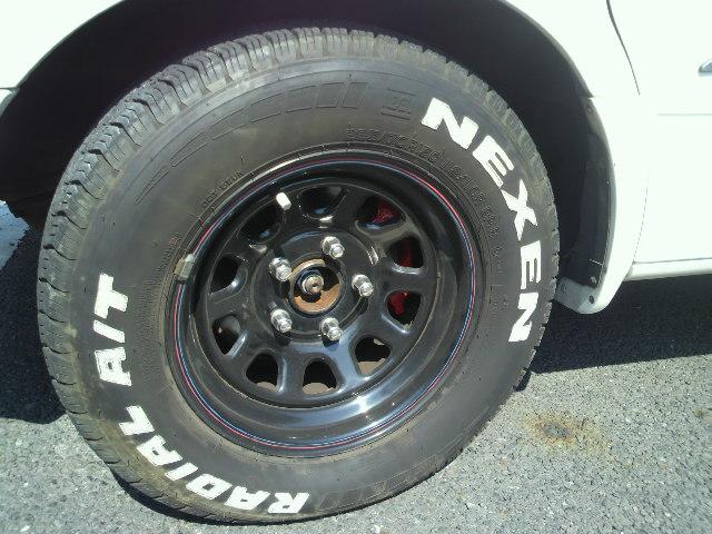 アルミホイール、タイヤ交換
